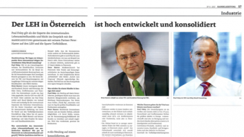 Handelszeitung 2017 Paul Foley Peter Harrer