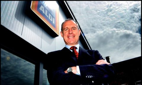 Paul Foley, Aldi's third employee in the UK and former chief executive. Photograph: Lisa Carpenter